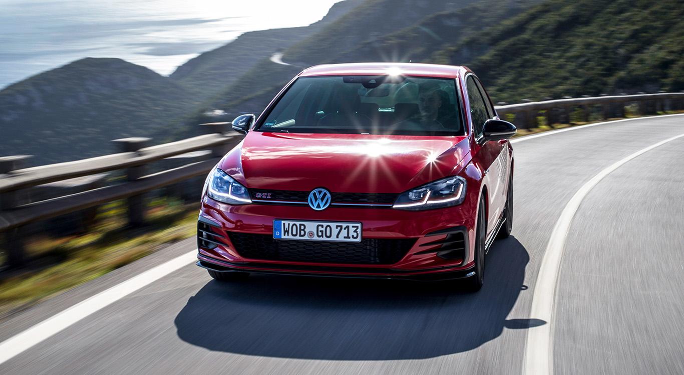 Der Nachfolger von Generation sieben (im Bild: VW Golf GTI TCR) wird noch 2019 der Öffentlichkeit vorgestellt.