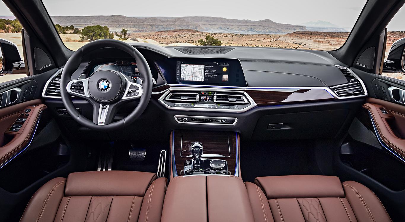 Foto: Luxus wohin das Auge reicht: Das Cockpit der neuen Generation des BMW X5.