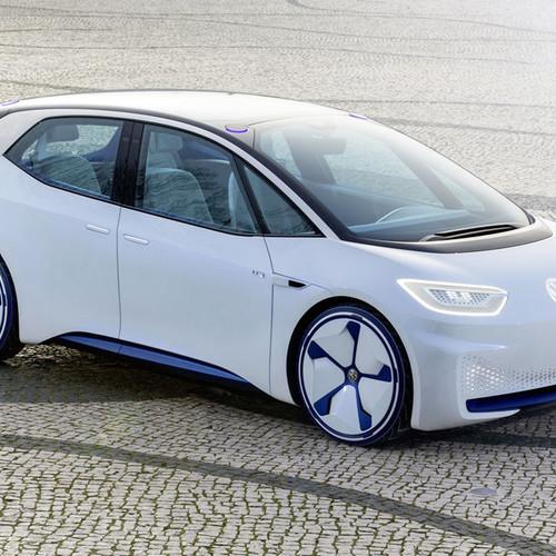 VW-Elektroauto, Studie ID Neo, Seitenansicht