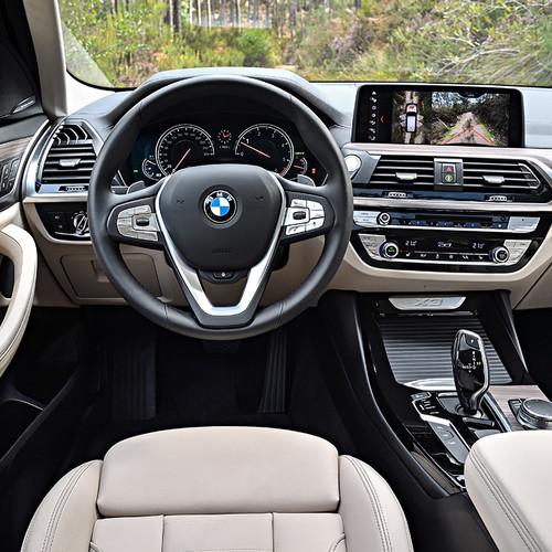 BMW X3 2018, Cockpit, Innenraum