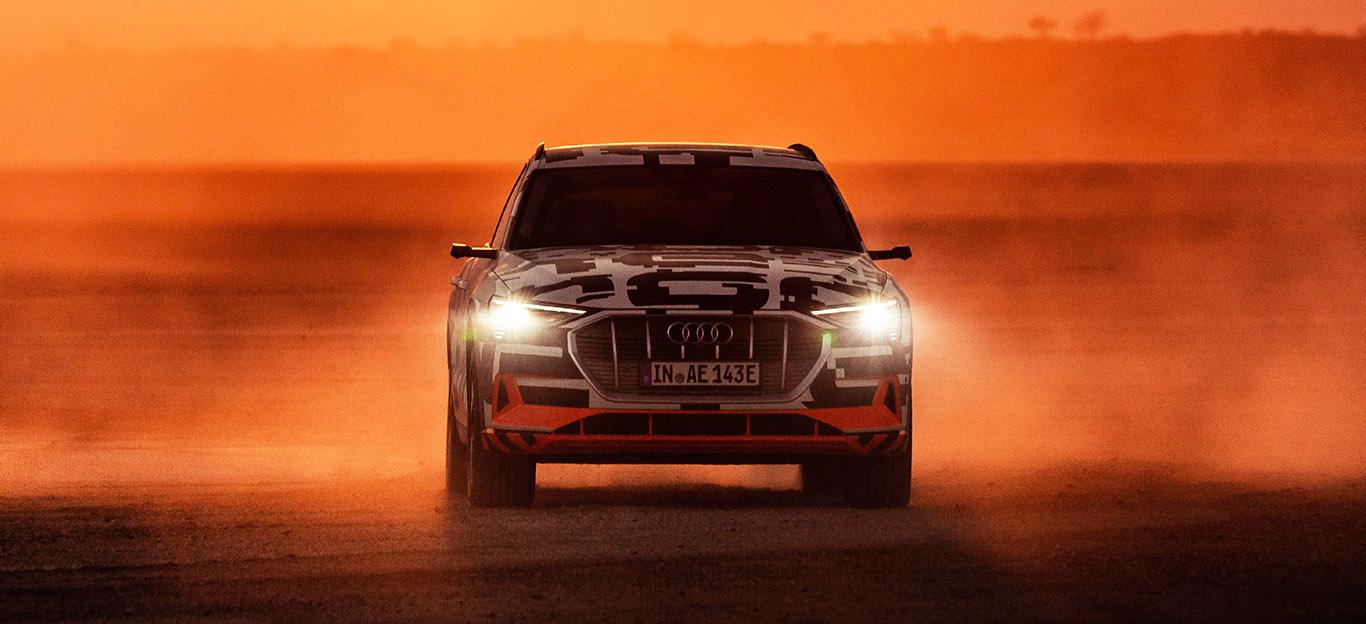 Audi E-Tron, Elektro-SUV, Frontansicht