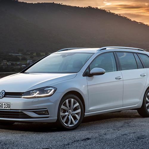 VW Golf Variant 7, Facelift, Frontansicht