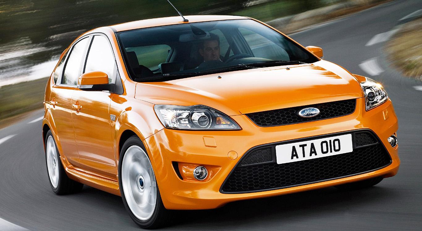Ford Focus ST, zweite Generation. Im Bild das Facelift-Modell (ab 2007).