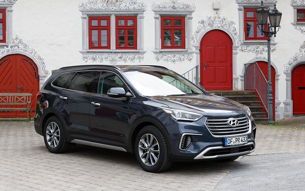 Gibt es als Neuwagen gar nicht mehr: der Hyundai Grand Santa Fe.