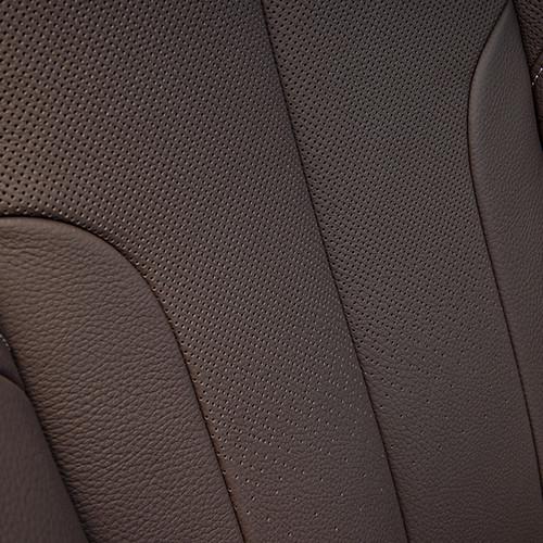 BMW X1, Detailansicht Sitzbezug