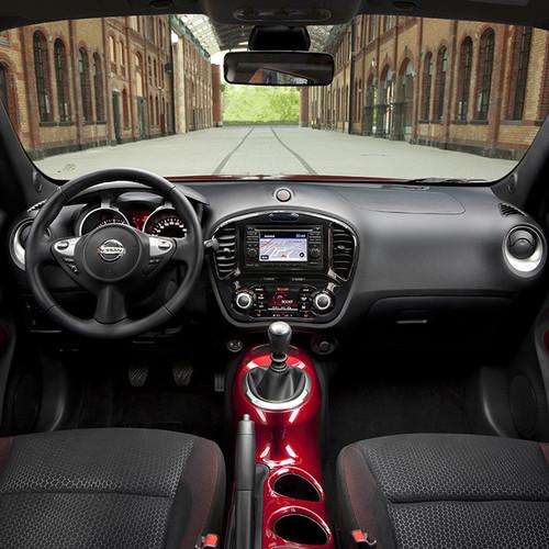 Amaturenansicht, vorderer Innenraum des Nissan Juke