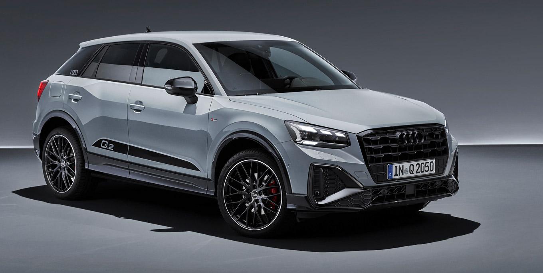 """Der Audi Q2 """"edition one"""" wird auf dem Gebrauchtwagen-Markt wird unter """"S line"""" geführt, da es sich hier genaugenommen um ein Ausstattungspaket handelt. Erst der Blick in die Liste der verbauten Sonderausstattungen bringt Gewissheit. Doch auch optisch ist ein Q2 mit """"edition one"""" leicht zu erkennen."""