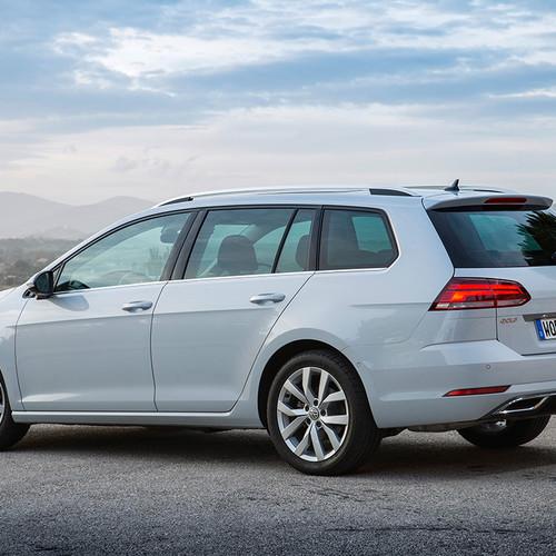 VW Golf Variant 7, Facelift, Heckansicht