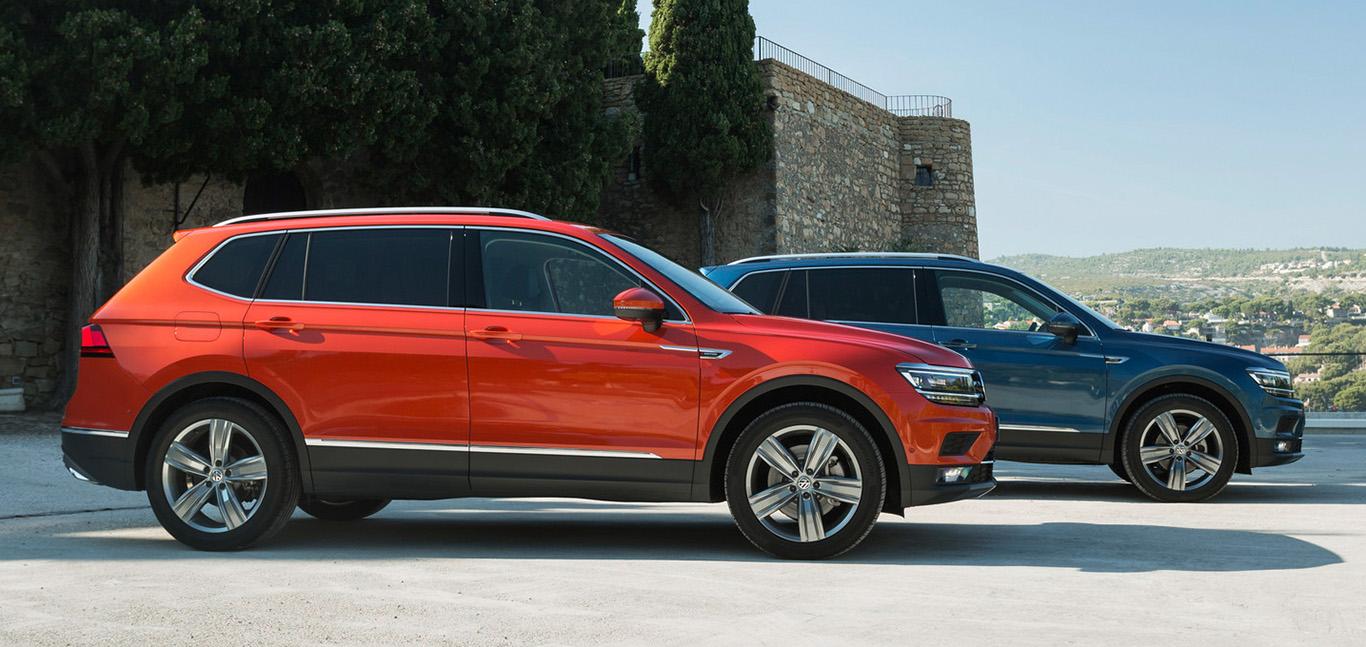VW Tiguan Allspace: Seine Maße übertrumpfen die des kürzeren Bruders deutlich. Die Länge beträgt 4,70 Meter.