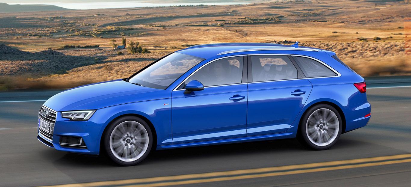 Audi A4 Avant G-Tron 2018 Seitenansicht