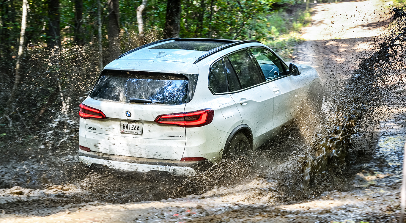 """""""Sports Activity Vehicle"""": Die neue Generation des BMW X5 ist geländetauglicher denn je."""