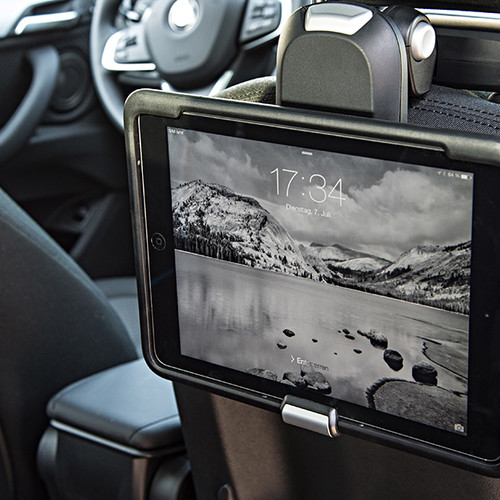 BMW X1, Tablet an Fordersitz 1