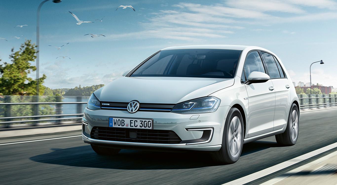 Der VW e-Golf.