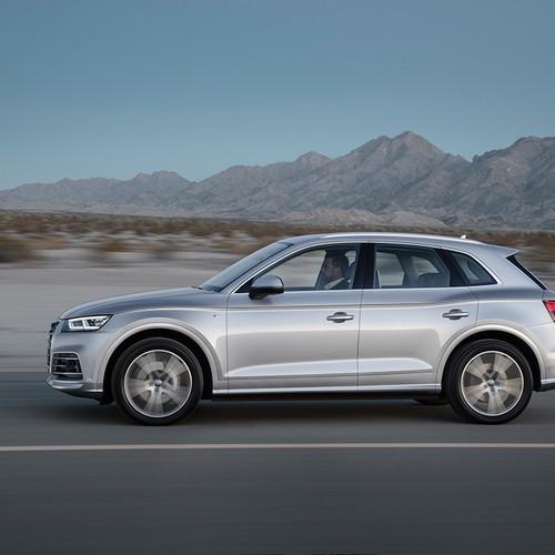 Seitenansicht des Audi Q5