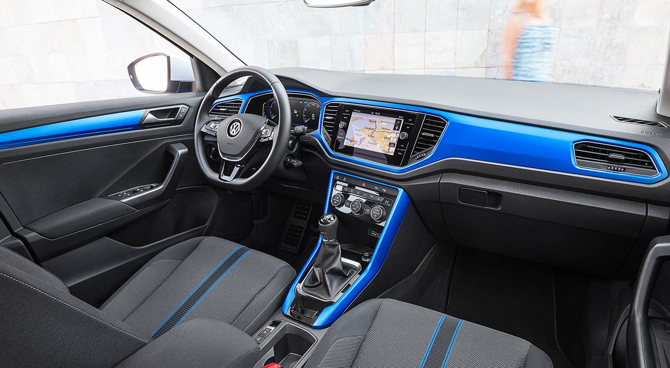 Trendig, komfortabel und multimedial auf dem neuesten Stand: das Lifestyle-SUV VW T-Roc.