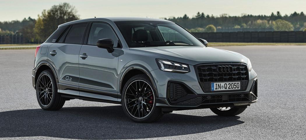 """Der Audi Q2 in """"edition one""""-Ausstattung."""