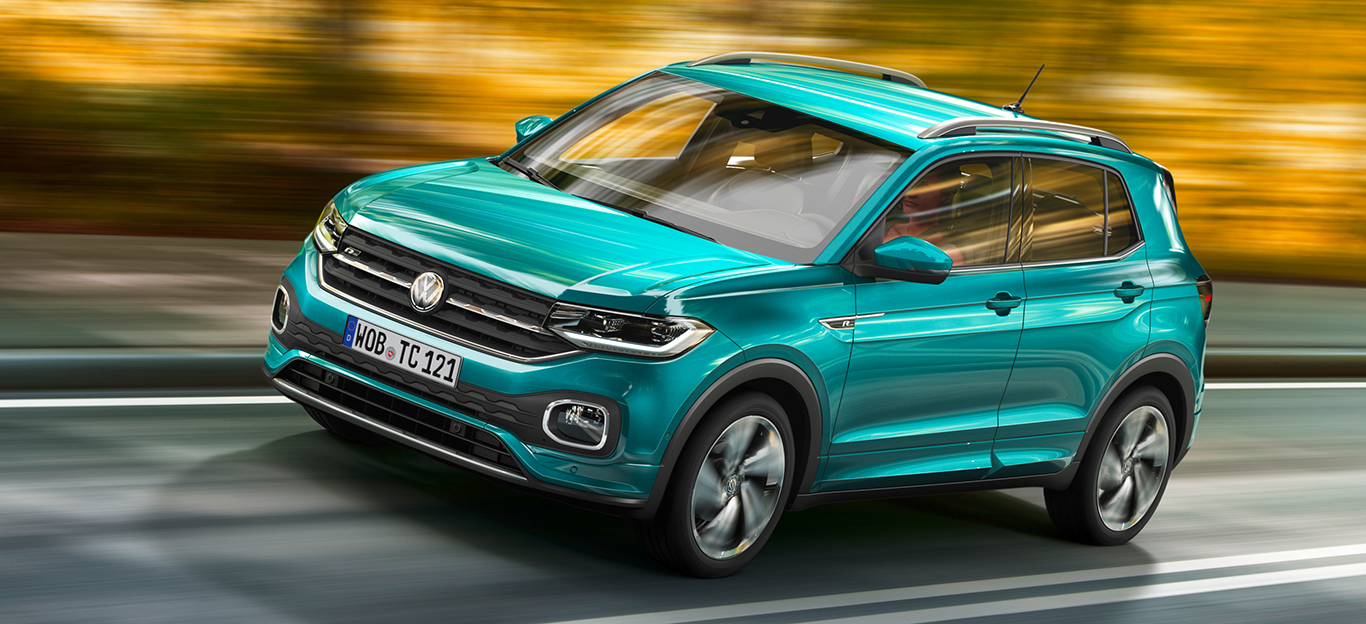 VW T-Cross, Fahraufnahme