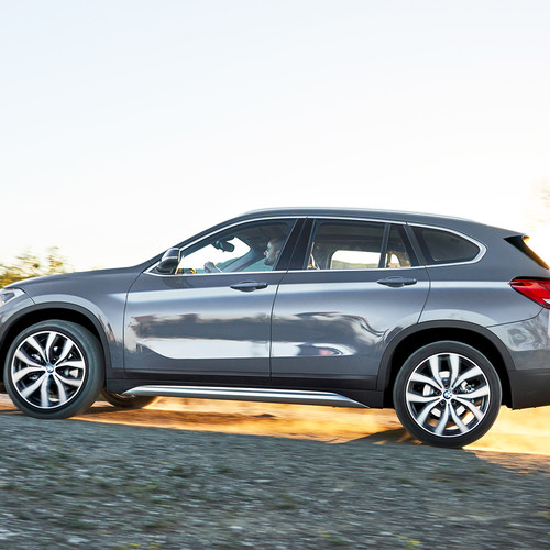 BMW X1 Facelift 2019, Seitenansicht