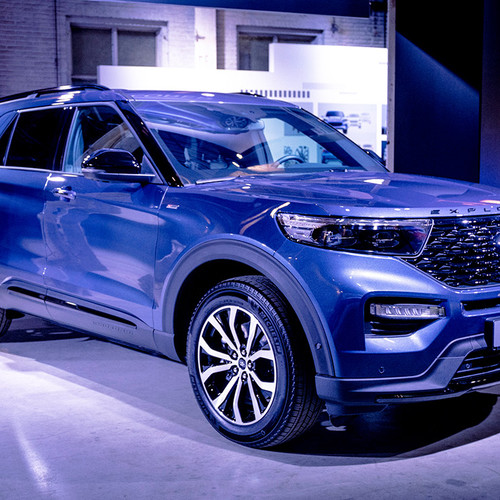 Ford Explorer 2019, Premiere, Frontansicht