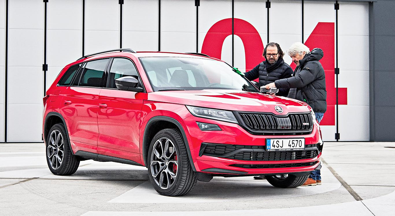 """""""Emotional"""" und """"funktional"""": """"Die Marke Škoda wird jetzt anders gesehen als vor zehn oder 15 Jahren"""", glaubt Stefani."""