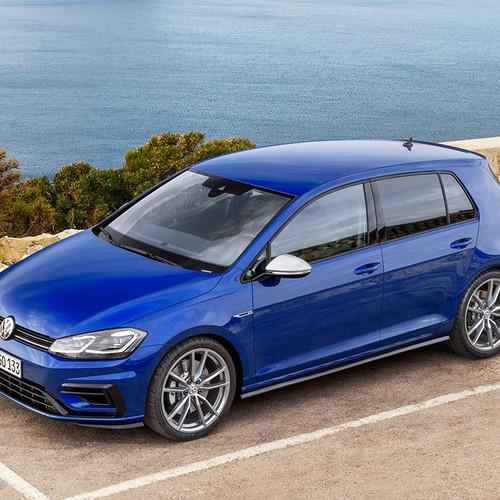 VW Golf R Facelift 2017