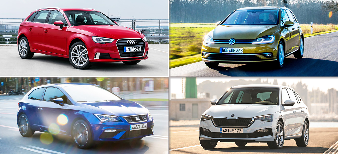 Audi A3, VW Golf, Seat Leon, Skoda Scala, Kompaktklasse-Test