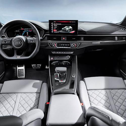 Audi S4, Facelift 2019, Cockpit, Innenraum