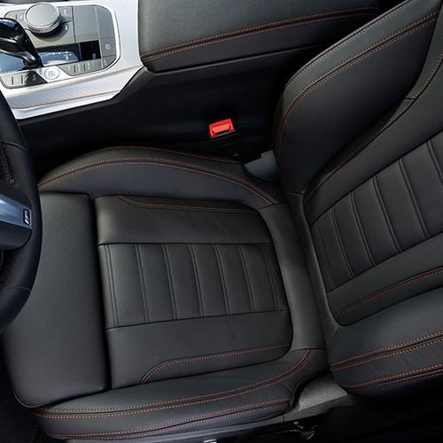 BMW 3er, Fahrersitz von oben