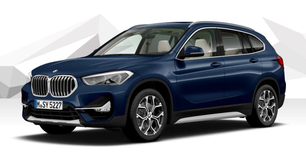 """Unser individuell konfigurierter BMW X1 """"xLine""""."""