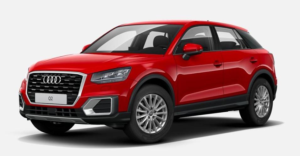 """Audi Q2 """"design"""" in Rofassung."""