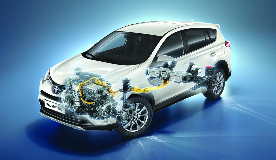 Toyota RAV4 Hybrid.