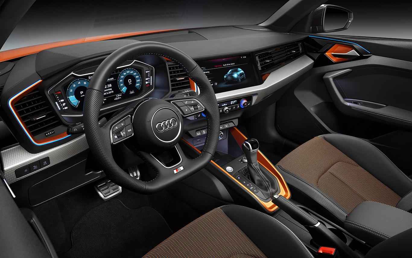Bestückt mit Audi S line und allem Drum und Dran: So könnte unser A1 citycarver mit Innenvollausstattung aussehen. Doch das kann gut ins Geld gehen.