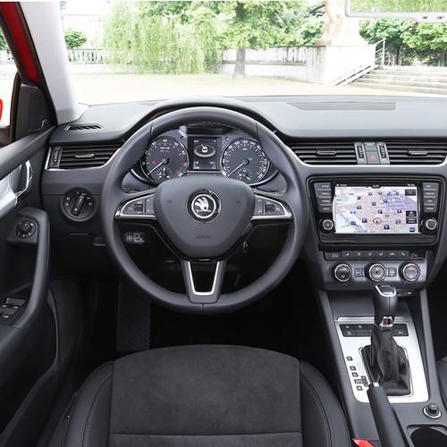 Skoda Octavia, Facelift 2017, Cockpit, Innenraum