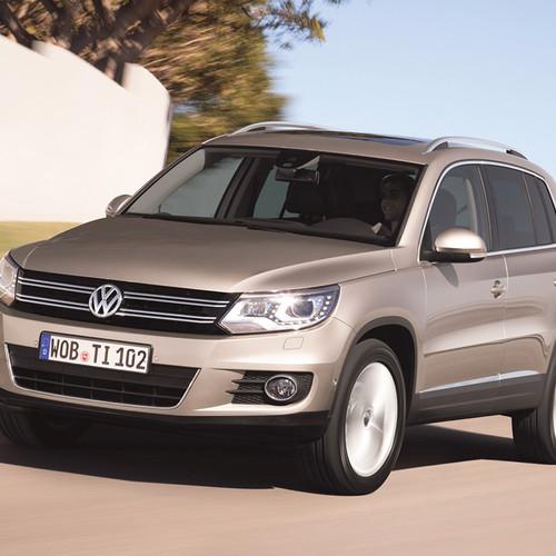 VW Tiguan I Facelift, Frontansicht