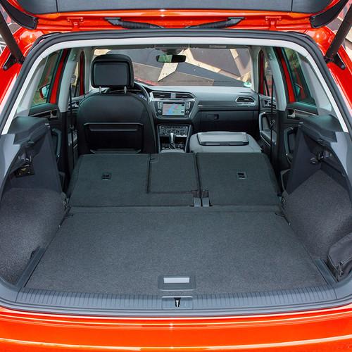 VW Tiguan II, Kofferraum