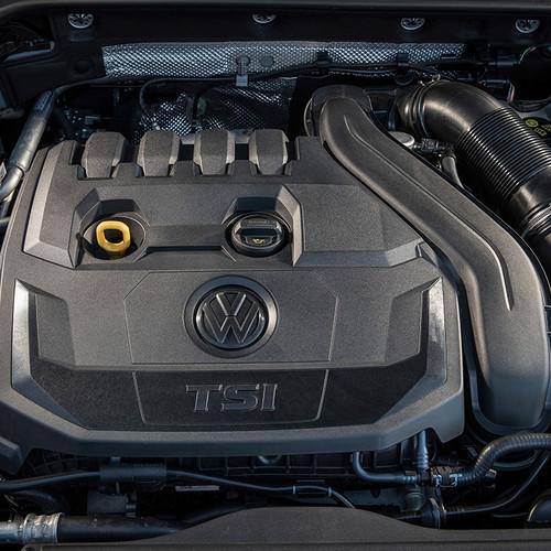 VW Golf TSI Benziner Motor Facelift 2017