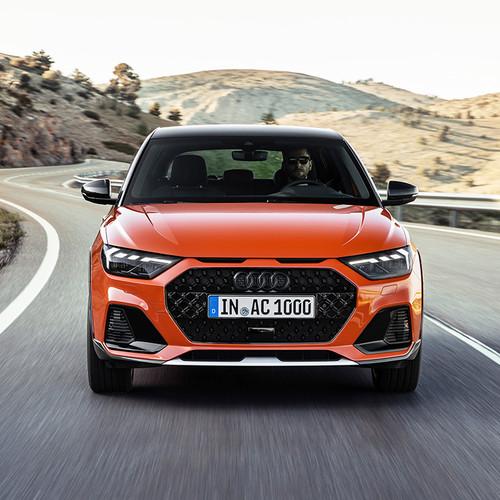 Audi A1 citycarver, Frontansicht, Fahraufnahme