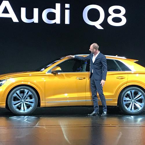 Audi Q8 2018, Vorstellung, Seitenansicht