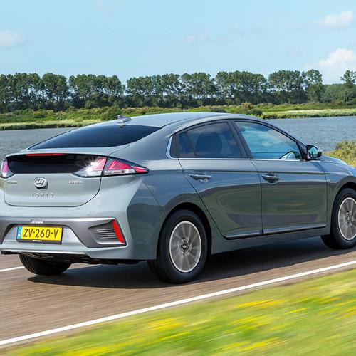 Hyundai Ioniq Elektro 2019, Fahraufnahme