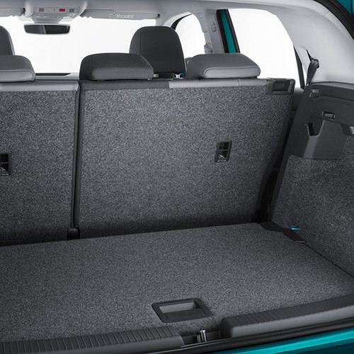 Kofferraum eines VW T-Cross