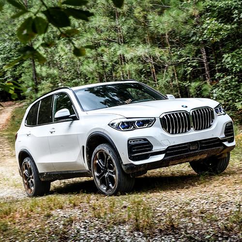 BMW X5 2018, weiß, Frontansicht, G05