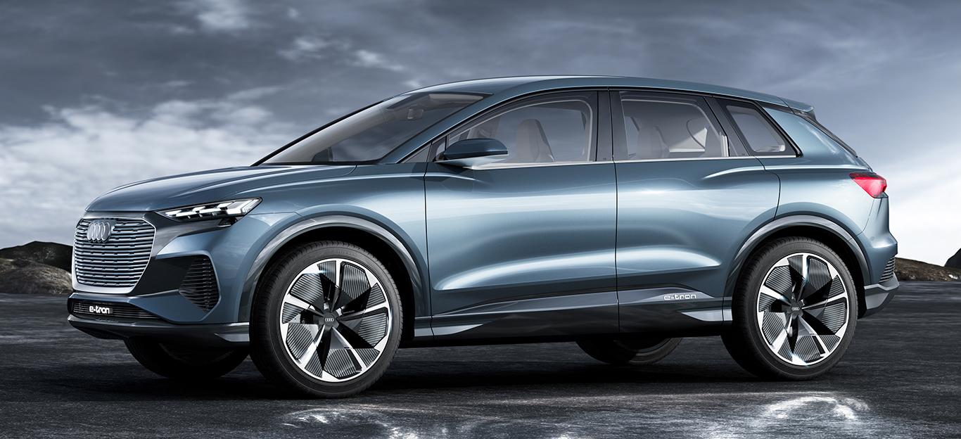Audi Q4 e-tron Concept, Studie