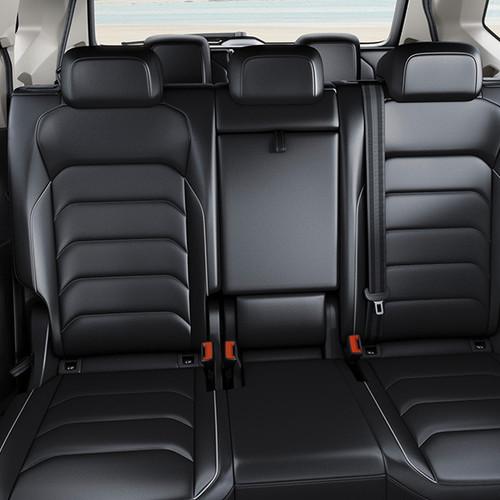 VW Tiguan Allspace, seitliche Innenansicht, Fond