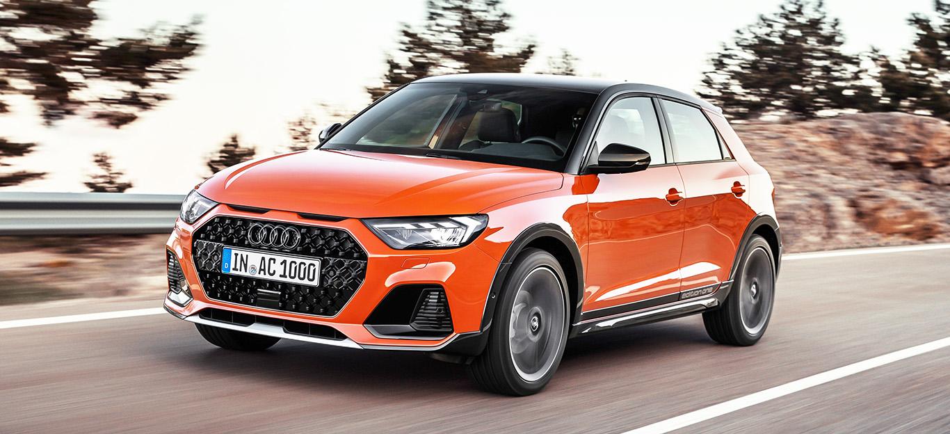 Audi A1 citycarver, Frontansicht