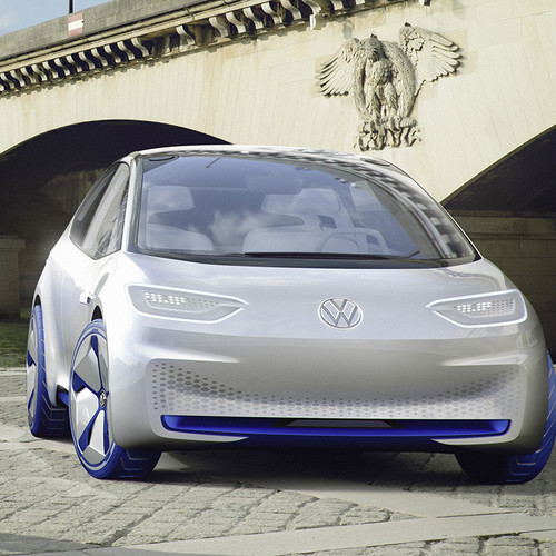 VW-Elektroauto, Studie ID Neo, Frontansicht