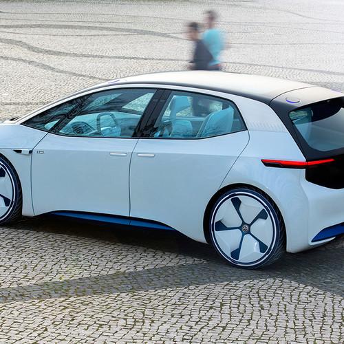 VW-Elektroauto, Studie ID NEO, Heckansicht