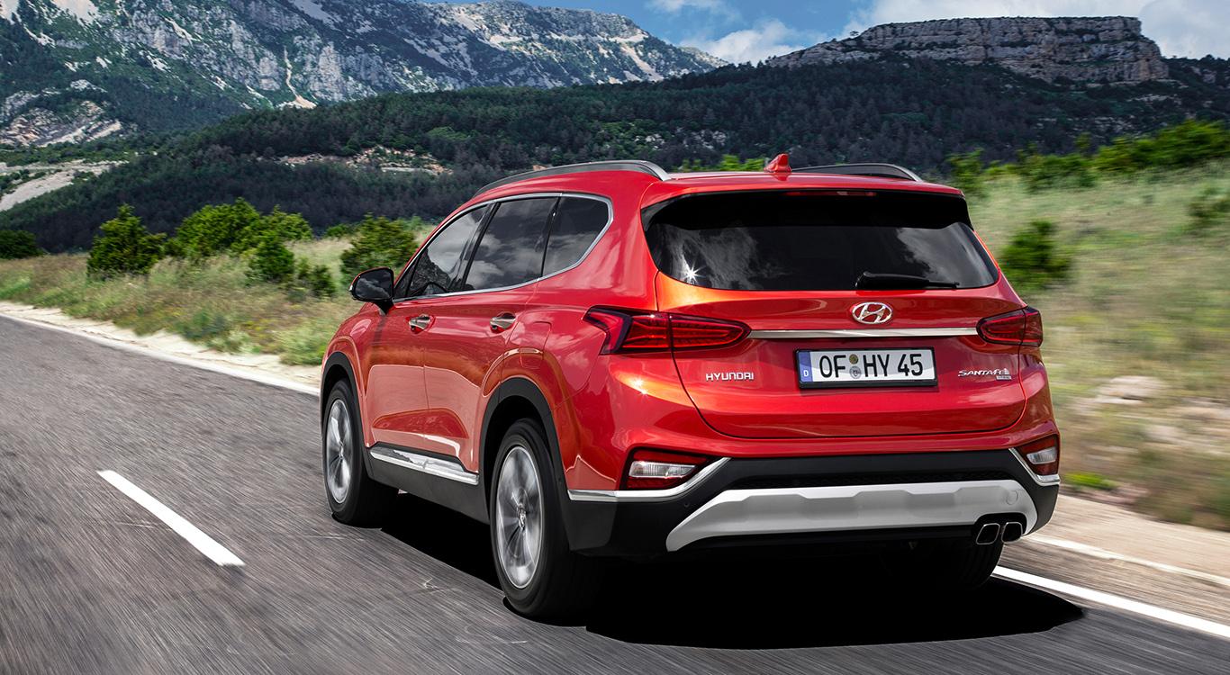 Der neue Hyundai Santa Fe trägt mehr denn je ein markantes Karosseriekleid.