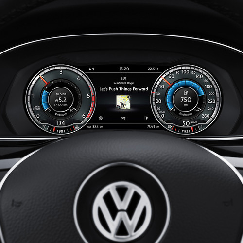 VW Passat Variant Active Info Display