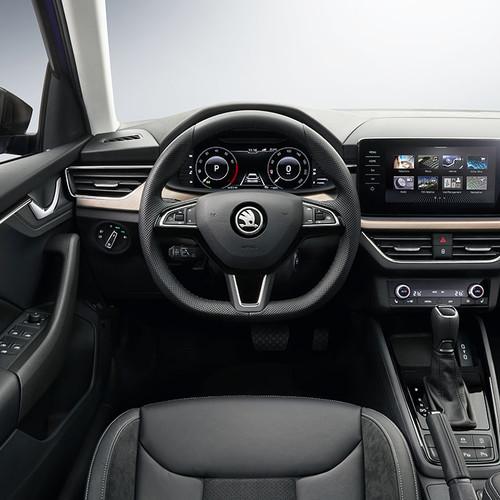 Skoda Scala 2019, Cockpit, Innenraum