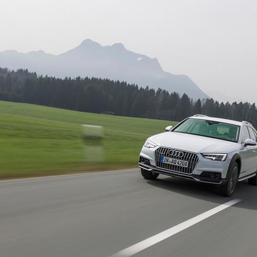 Frontansicht des Audi A4 Allroad Quattro